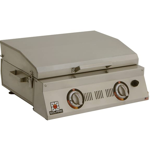 Double Burner Table Top Infrared Grill