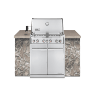 Weber Summit® S-460 Built-In Gas Grill (Natural Gas)