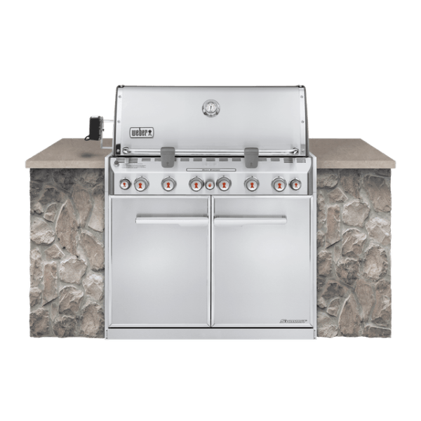 Weber Summit®-S-660 Built In Gas Grill Natural Gas
