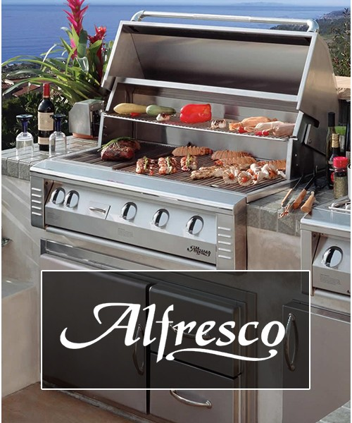 Alfresco Builtin BBQ Grill Near Me Store