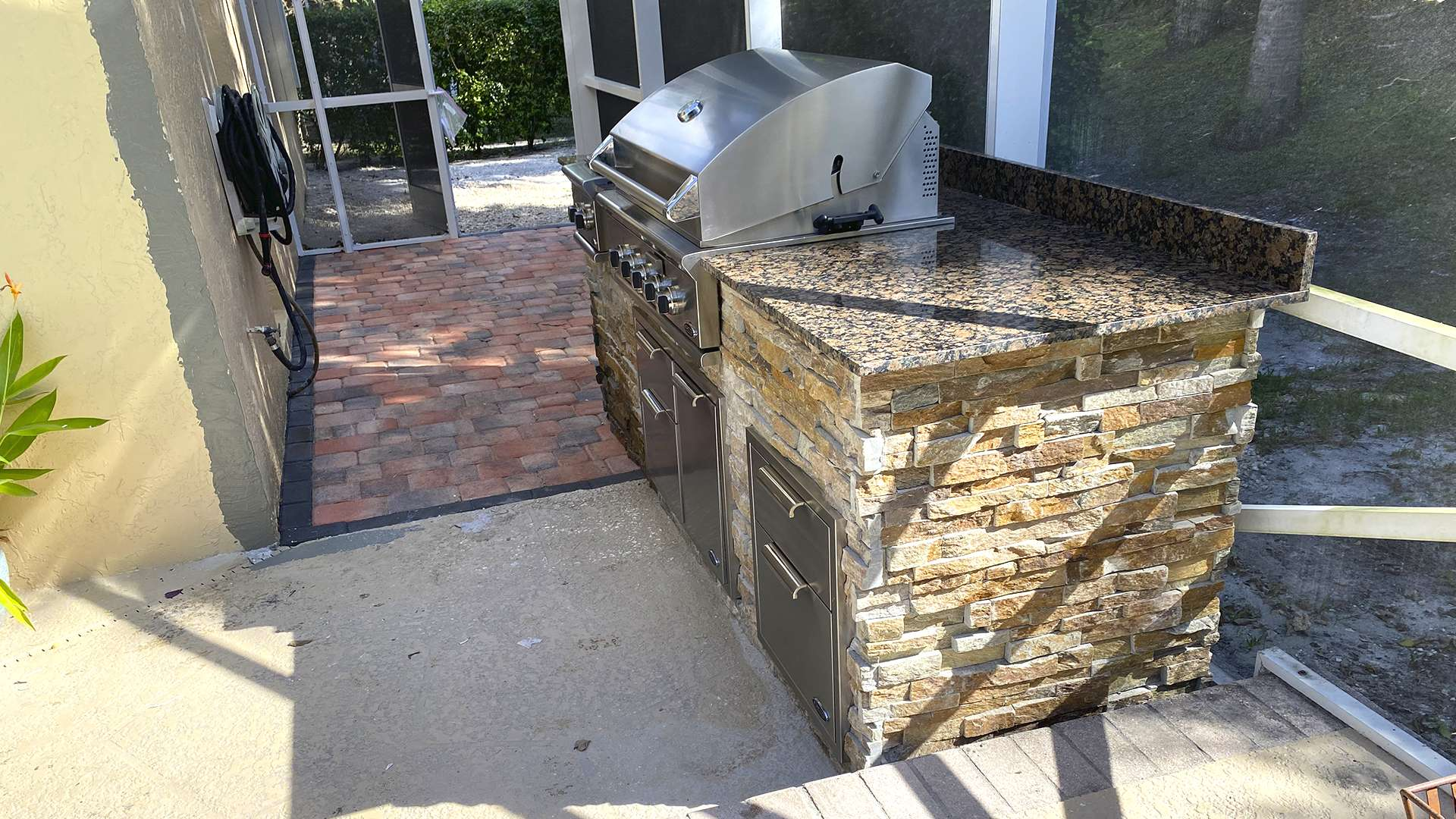 Outdoor Kitchen by Palm Beach Grill Center