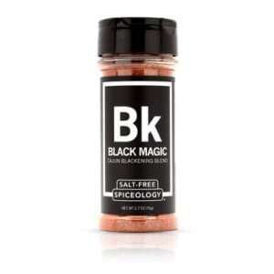 Spiceology - Black Magic - Salt-Free Cajun Seasoning - 2.7