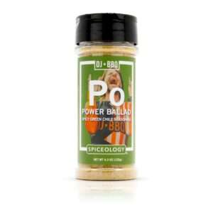 Spiceology - Shop DJ BBQ - Power Ballad - Spicy Green Chile Seasoning - 4.3 OZ