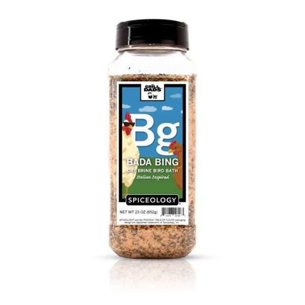 Spiceology - The Grill Dads - Bada Bing Dry Brine - 3.6 OZ