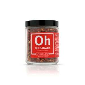 Spiceology Oh Canada Steak Seasoning Glass Jar Glass Jars