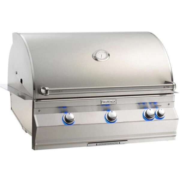 Fire Magic Aurora A790I 36-Inch Built-In Natural Gas Grill With Analog Thermometer