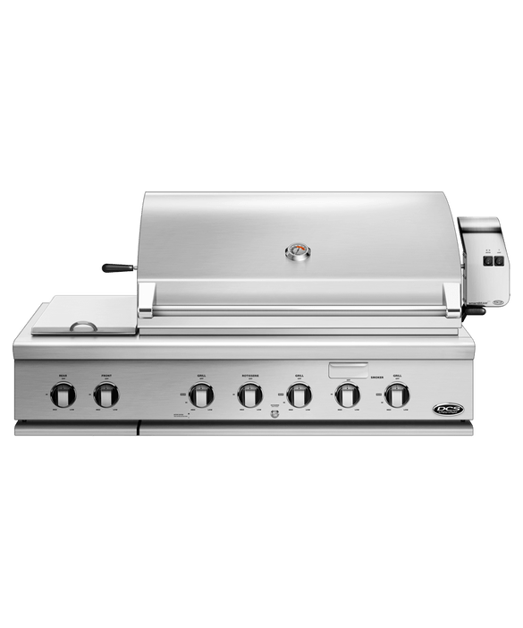 """DCS Grills 48"""" Series 7 Grill with Integrated Side Burners"""