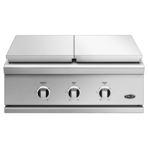 DCS 30 Series 9 Double Side Burner Griddle