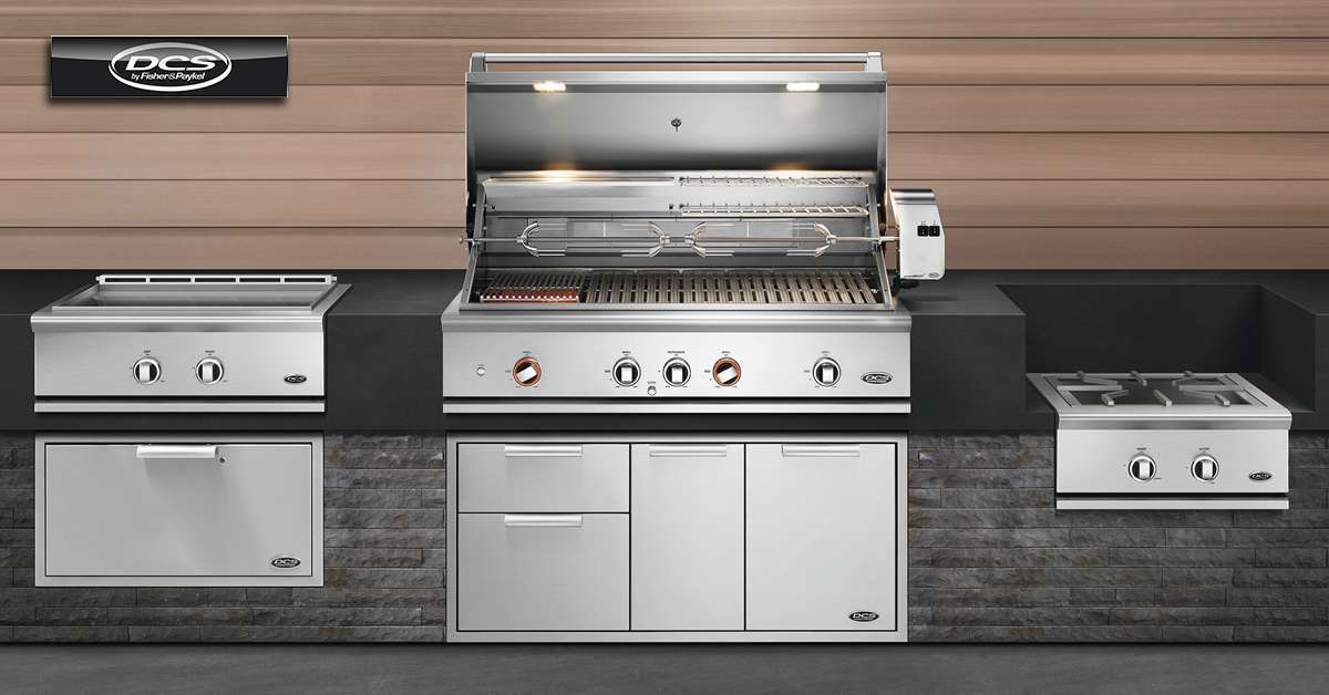 DCS 9 Series Grill and Components Outdoor Kitchens