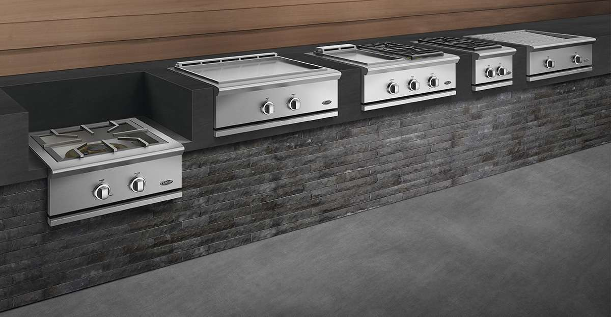 DCS Outdoor Kitchen components