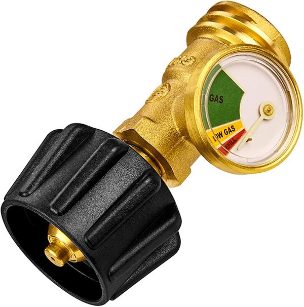 Propane Gas Gauge With Level Indicator