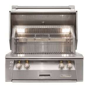 Alfresco 30 Built In Grill 2 Burner Rotis