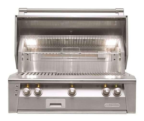 Alfresco 36 Built In Grill 3 Burner Rotis for Sale