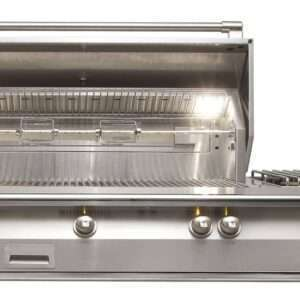 Alfresco 56 Built-In Grill 3 Burner Side Burner Rotis