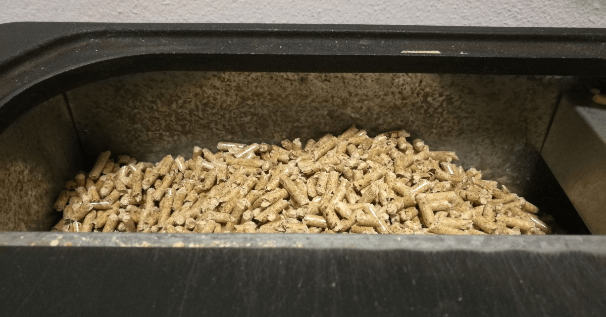 using wood pellets when grilling